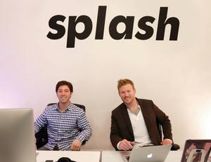 Press2 splash