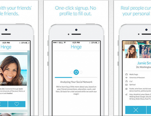 Hinge relationship app promises to find your perfect match