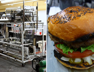 Momentum machines robot burger