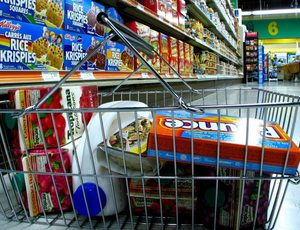 Basket of groceries 1100x732