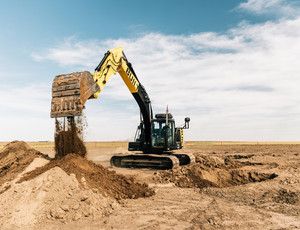 Built robotics autonomous excavator 2