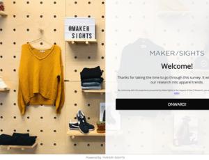 Makersights screenshot