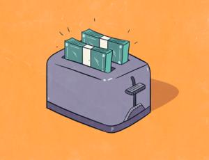 Toaster money